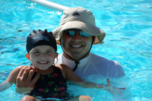 Early swim school days when all I did was teach. This was at Avendale in Ladera Ranch.